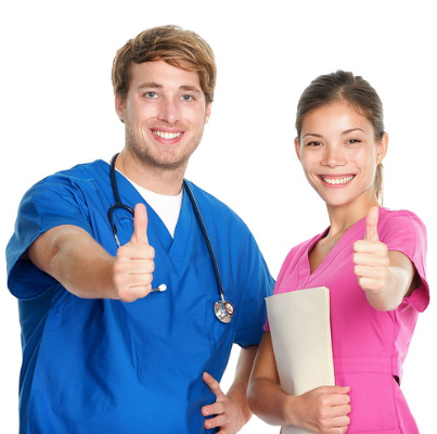 young medical workers